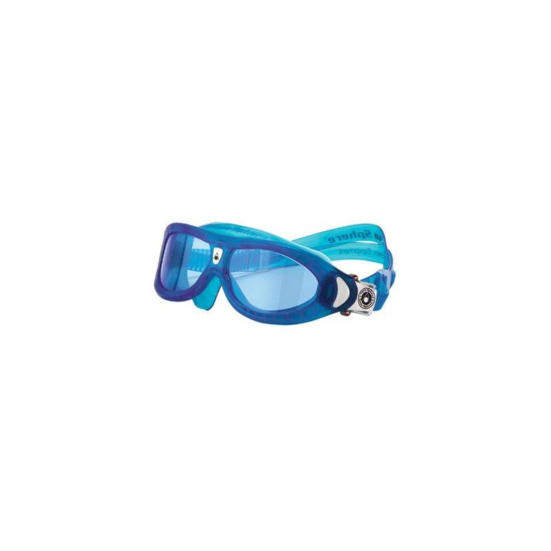 Okuliare plavecké detské Aqua Sphere Seal Kid blue lens modré