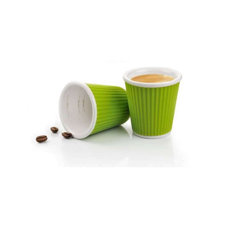 Sada hrnčekov LES ARTISTES Green 100 ml (A-0622) zelená farba