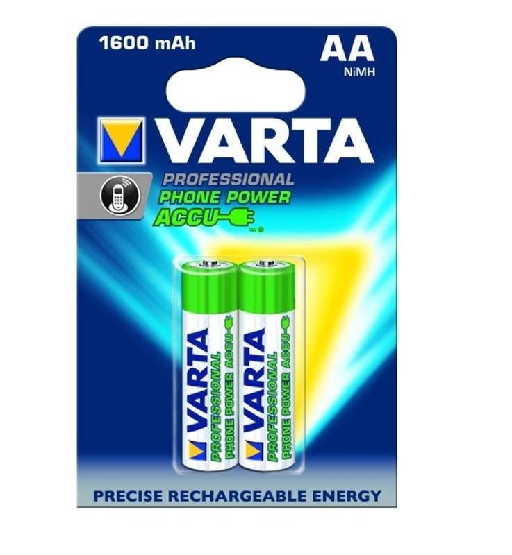 Batéria nabíjacie Varta Phone Power Accu, AA, 1 600 mAh