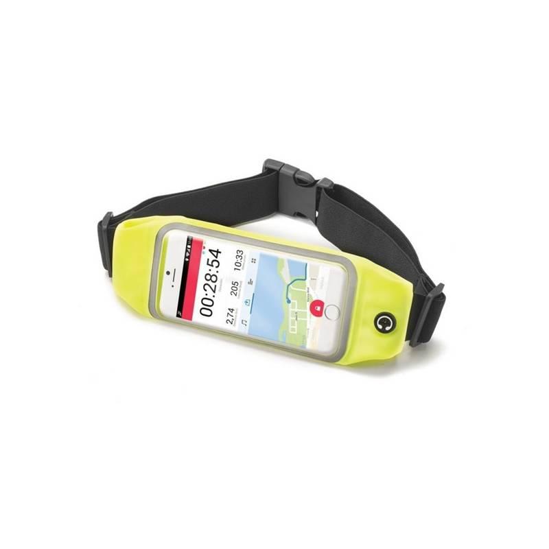 """Pouzdro na mobil sportovní Celly Runbelt, pro 4,7"""" (RUNBVIEWXLYL) žluté"""