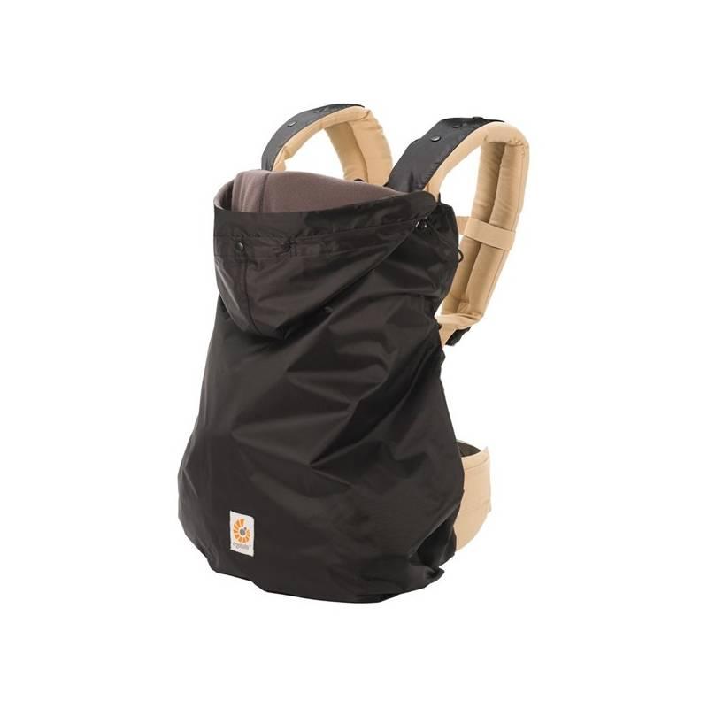 Zimní kabátek k dětské nosičce Ergobaby 2 v 1 Black + Doprava zadarmo