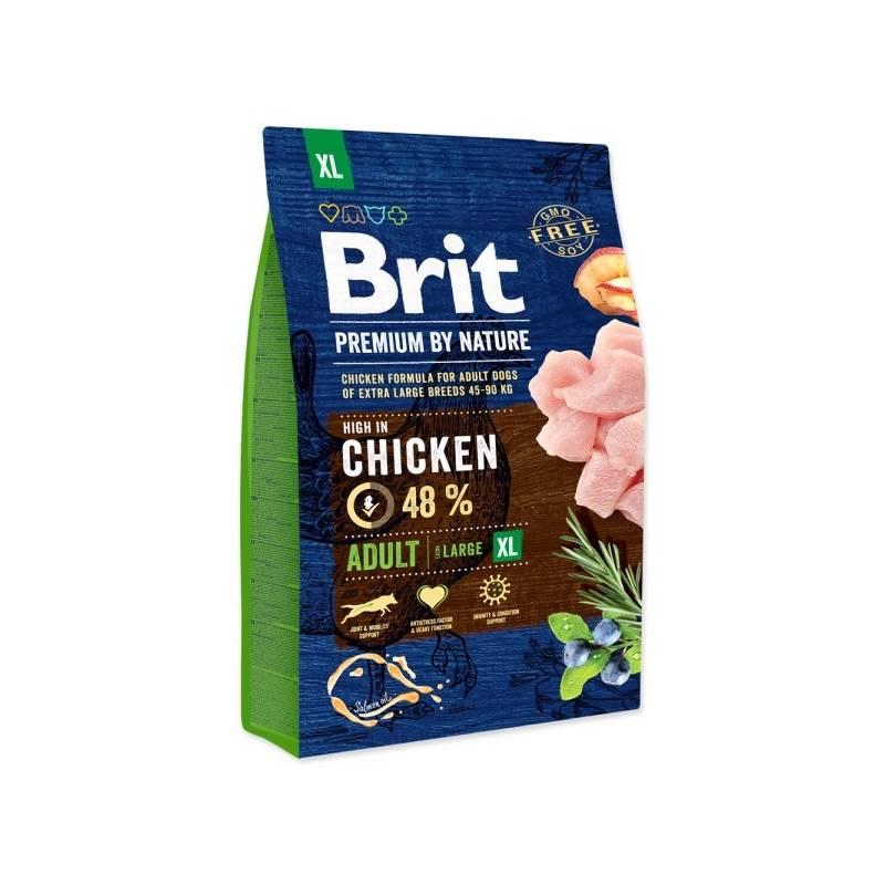 Granule Brit Premium Dog by Nature Adult XL 3 kg