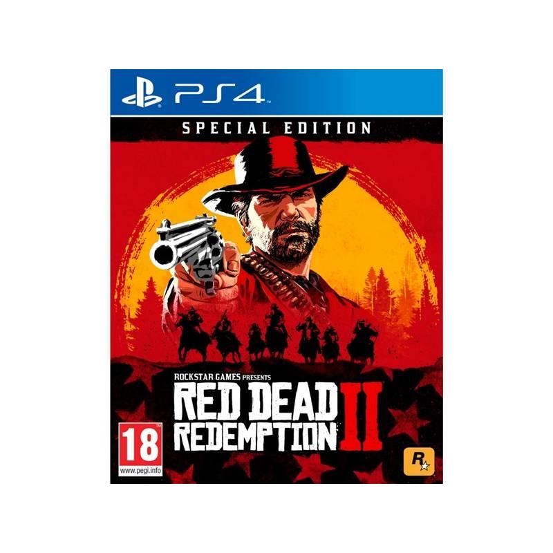 Hra RockStar PlayStation 4 Red Dead Redemption 2 - speciální edice