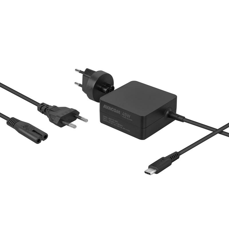 Sieťový adaptér Avacom USB-C 45W Power Delivery (ADAC-FC-45PD)