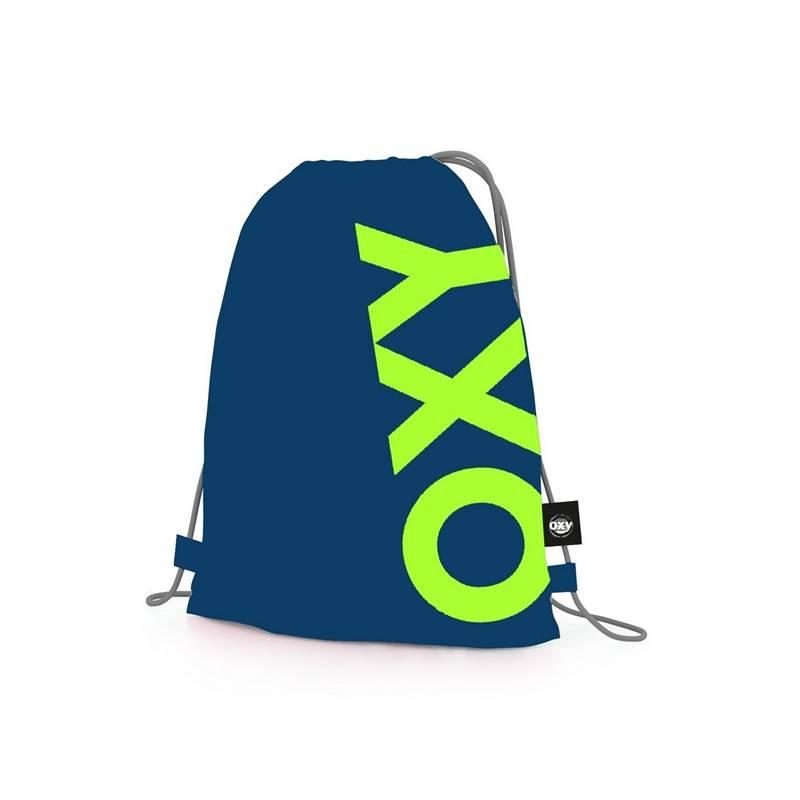 Vrecko na prezuvky P + P Karton OXY Neon Dark Blue