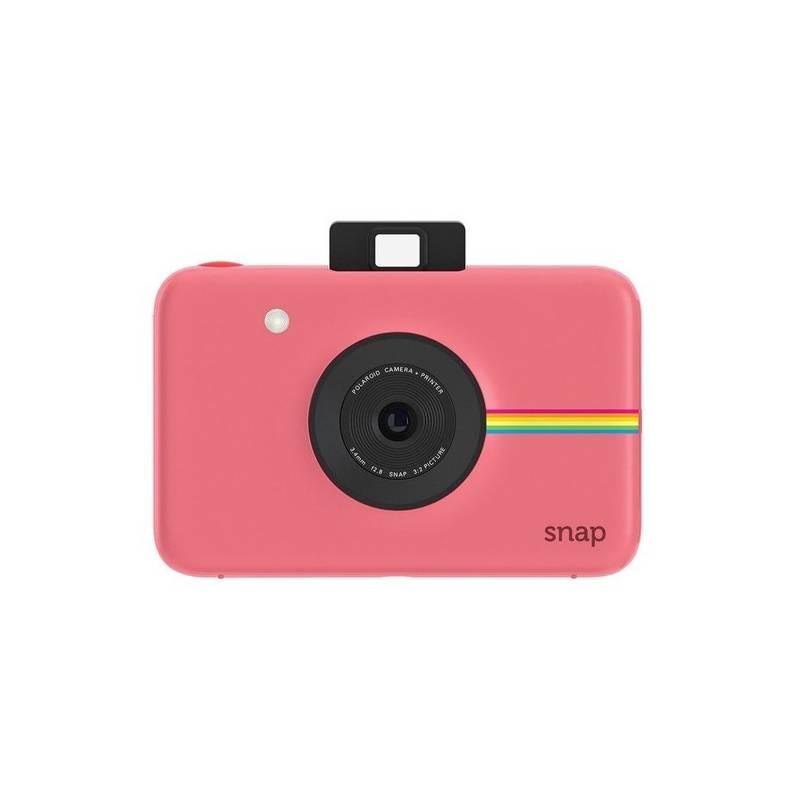 Digitálny fotoaparát Polaroid SNAP Instant Digital (POLSP01BP) ružový