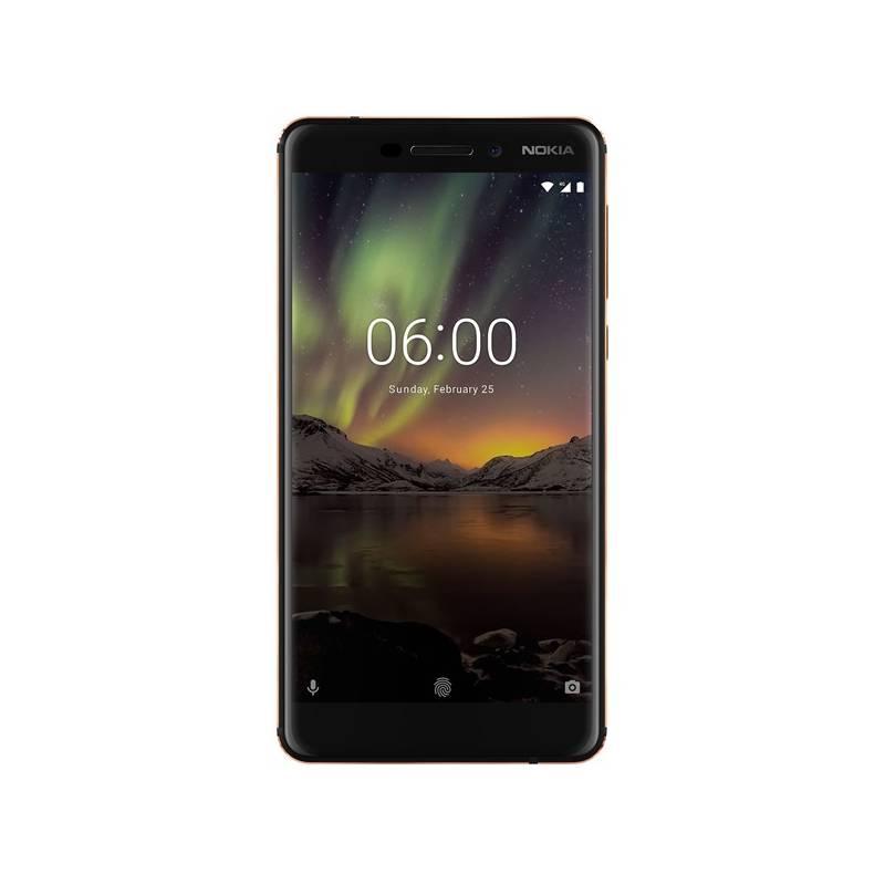 Mobilný telefón Nokia 6.1 Dual Sim (11PL2B01A10) čierny Software F-Secure SAFE, 3 zařízení / 6 měsíců (zdarma) + Doprava zadarmo