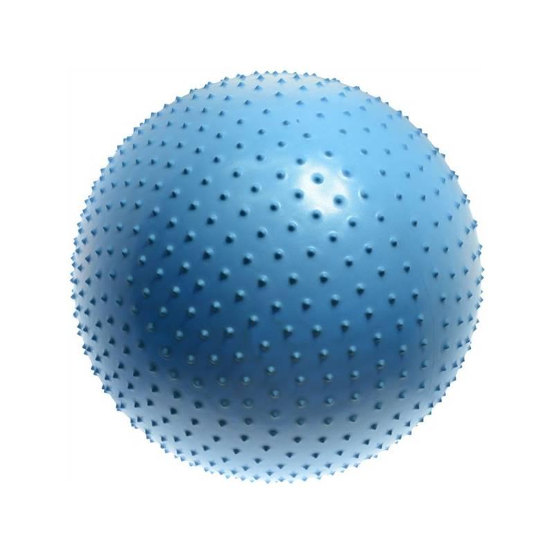 Masážna lopta LIFEFIT gymnastický MASSAGE BALL 75 cm modrý + Doprava zadarmo