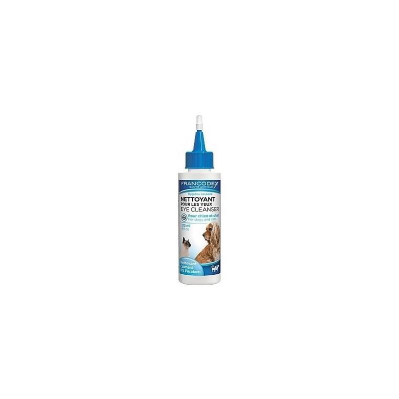 Roztok Francodex čistící na oči pes, kočka 125 ml