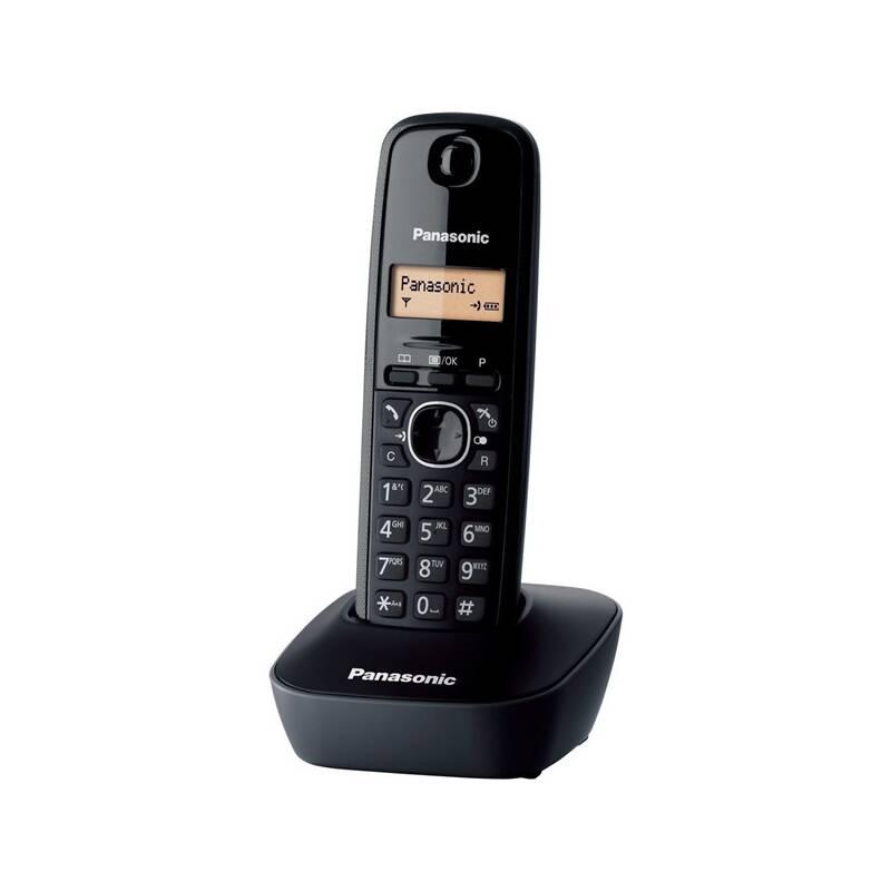 Domáci telefón Panasonic KX TG1611FXH DECT (KX-TG1611FXH) sivý