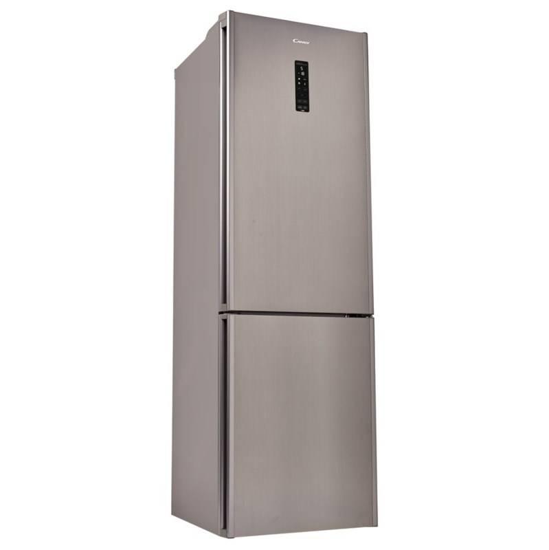 Kombinácia chladničky s mrazničkou Candy CKCS6186IXV/1 nerez + Doprava zadarmo