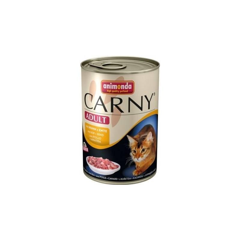 Konzerva Animonda Carny Adult kuře + kachna 400g