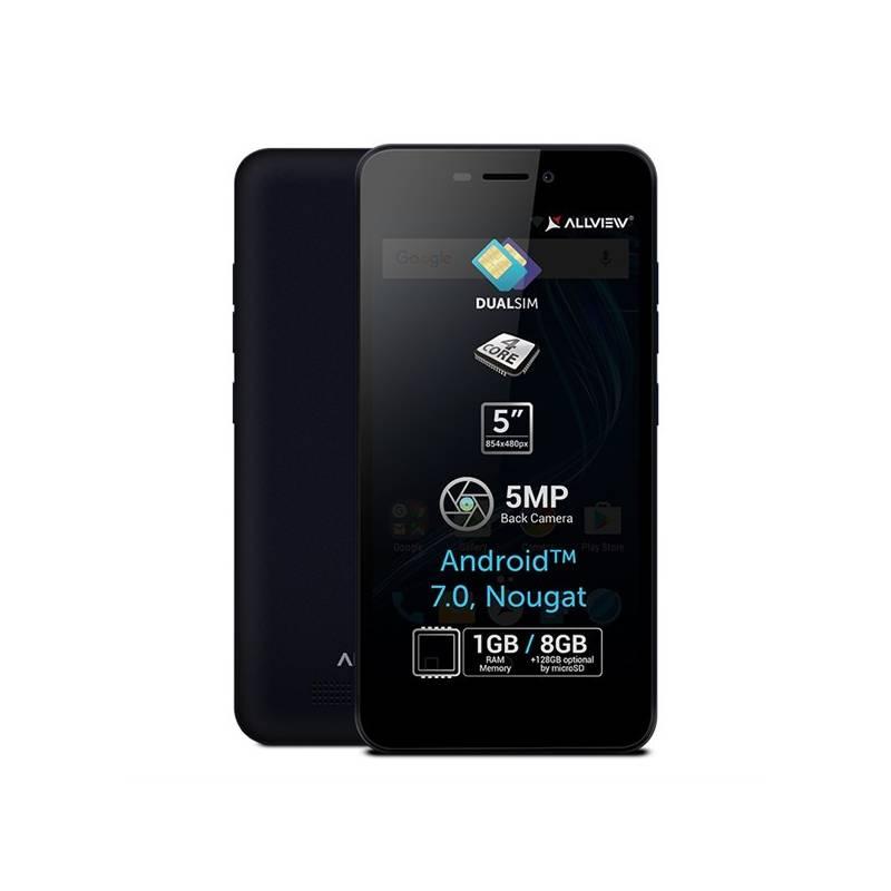 Mobilný telefón Allview A8 Lite Dual SIM modrý Software F-Secure SAFE, 3 zařízení / 6 měsíců (zdarma) + Doprava zadarmo