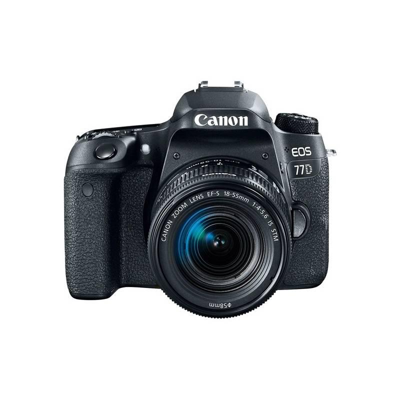 Digitálny fotoaparát Canon EOS 77D + 18-135 IS USM Value Up Kit (1892C034) čierny + Doprava zadarmo