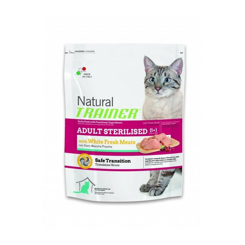Granuly Trainer Natural Cat Adult Sterilised s drůbežím masem 300g