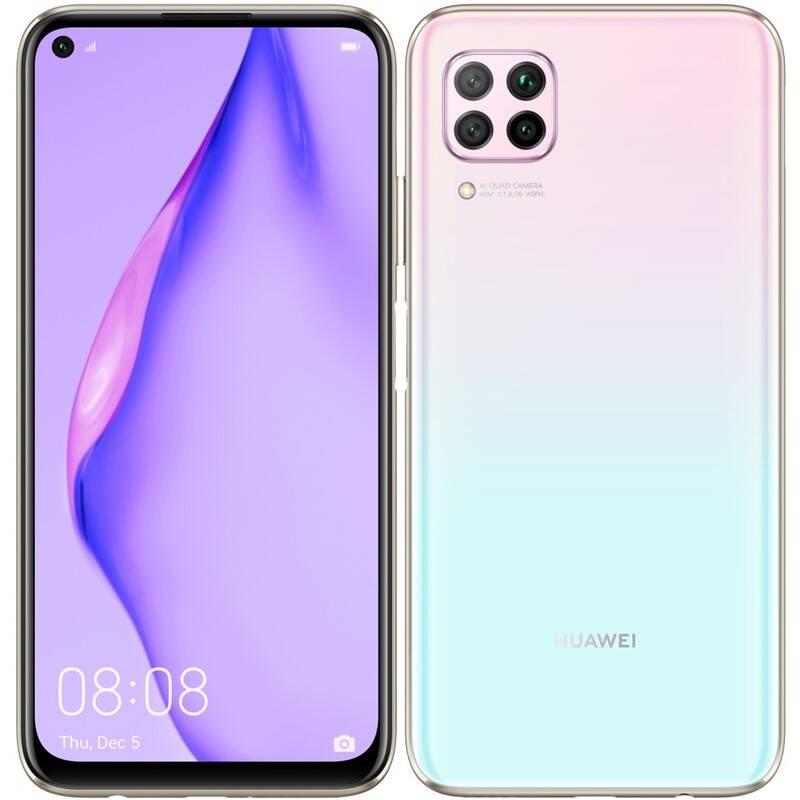Mobilný telefón Huawei P40 lite (HMS) - Sakura Pink (SP-P40L128DSPOM) + Doprava zadarmo