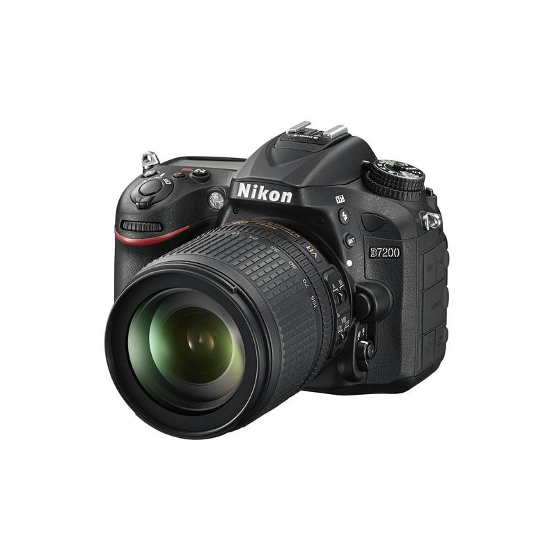 Digitálny fotoaparát Nikon D7200 + 18-105 AF-S DX VR čierny + Doprava zadarmo