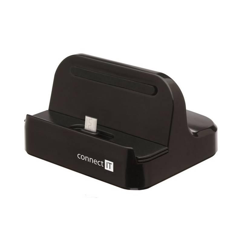 Dokovacia stanica Connect IT micro USB (CI-647) čierna