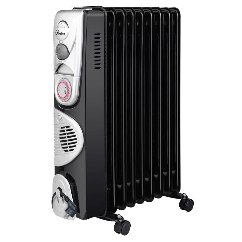 Olejový radiátor Ardes 4R09BTT čierny