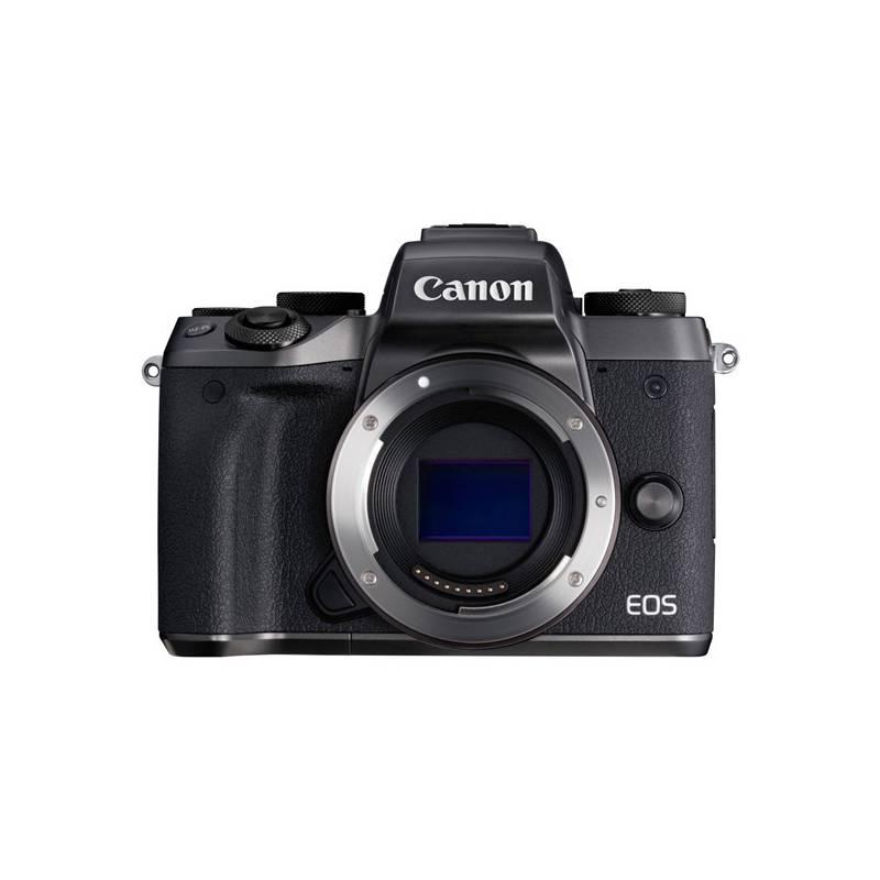 Digitálny fotoaparát Canon EOS M5, tělo (1279C002) čierny + Doprava zadarmo