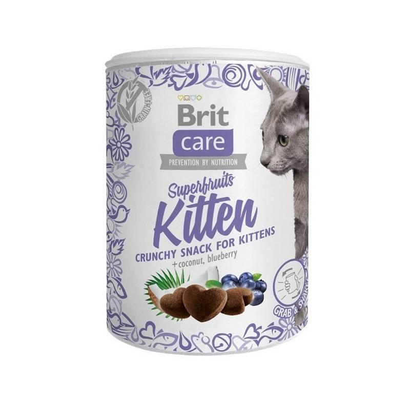 Pochúťka Brit Care Cat Snack Superfruits Kitten 100 g