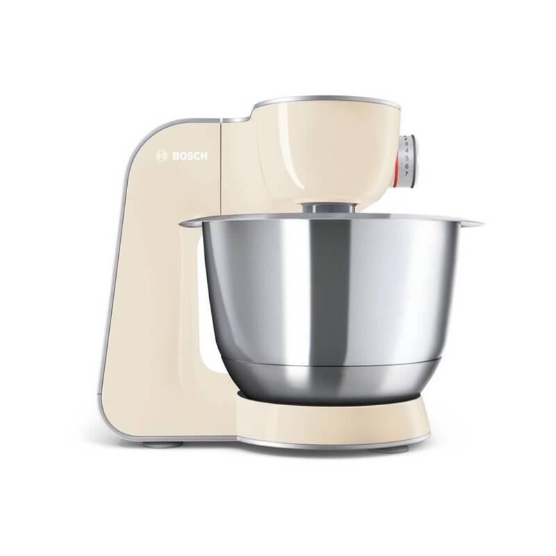 Kuchynský robot Bosch CreationLine MUM58920 strieborný/krémový