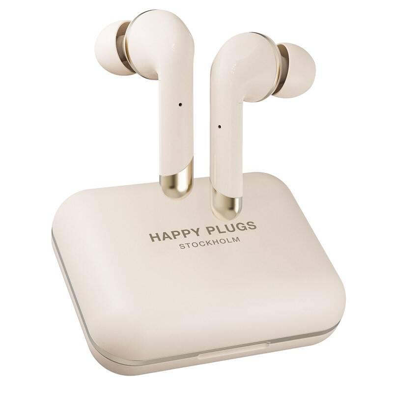 Slúchadlá Happy Plugs Air 1 Plus In-Ear zlatá + Doprava zadarmo