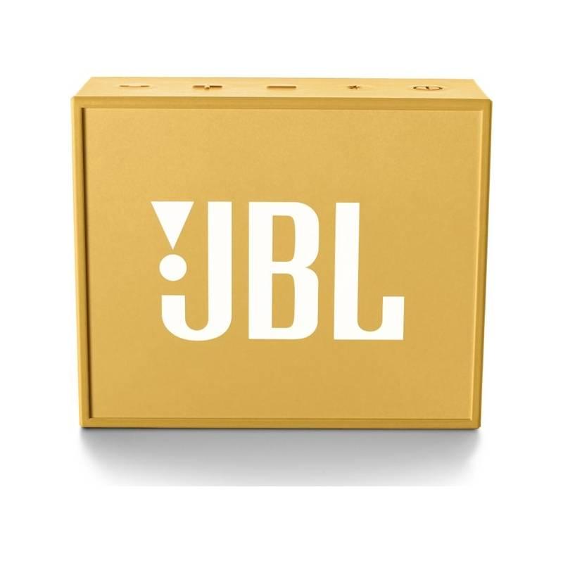 Prenosný reproduktor JBL GO žltý