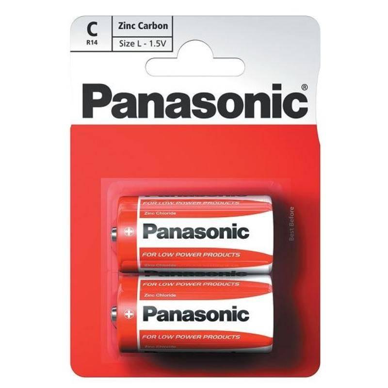Batéria Panasonic C, 2 ks (7518)