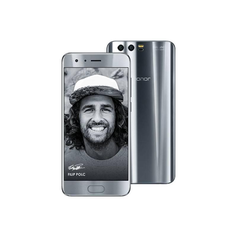 Mobilný telefón Honor 9 Dual SIM 64 GB (51091TBF) strieborný Software F-Secure SAFE 6 měsíců pro 3 zařízení (zdarma) + Doprava zadarmo