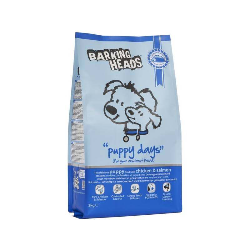 Granule Barking Heads Puppy Days 12 kg