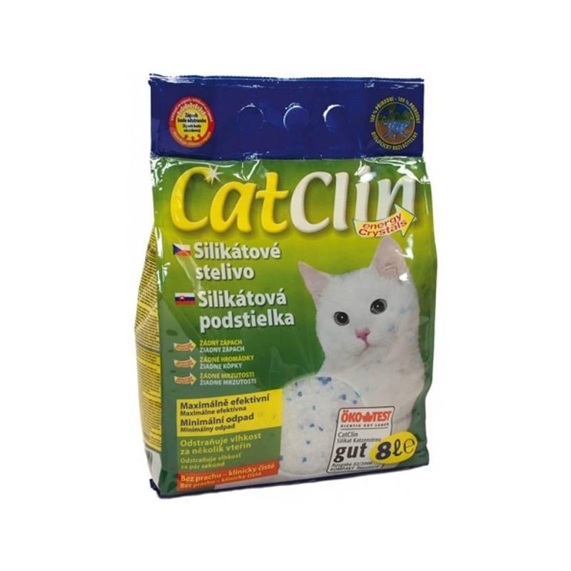 Podstielky Agros CatClin 8l