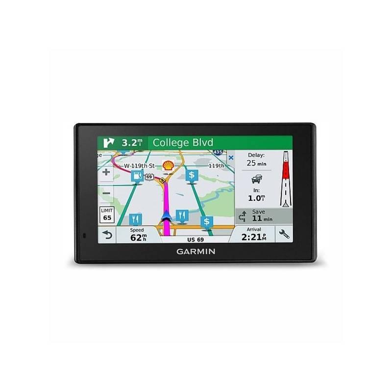 Navigačný systém GPS Garmin DriveSmart 51T-D Lifetime Europe45 (010-01680-13) čierna