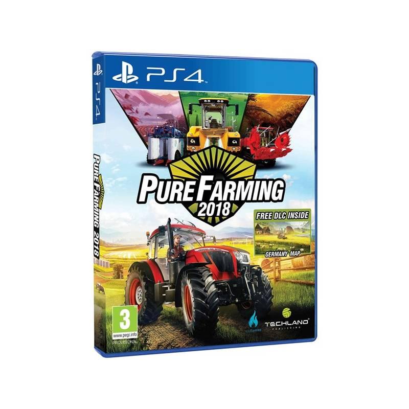 Hra Ubisoft PlayStation 4 Pure Farming 2018 (5902385106146) + Doprava zadarmo