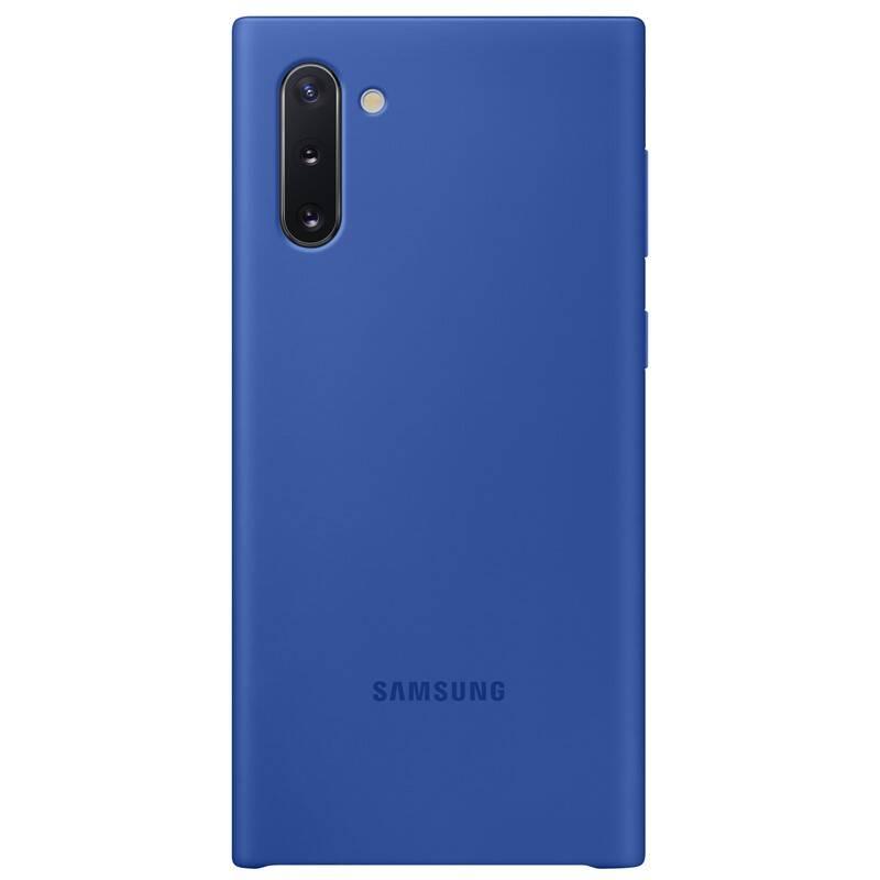 Kryt na mobil Samsung Silicon Cover pro Galaxy Note10 (EF-PN970TLEGWW) modrý