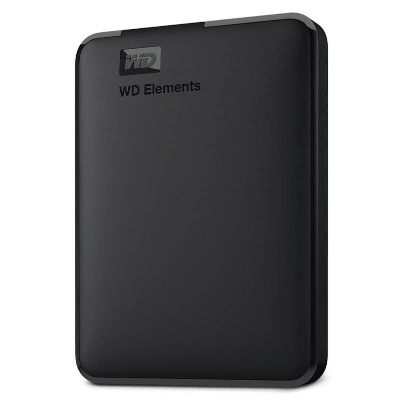 Externý pevný disk Western Digital Elements Portable 1TB (WDBUZG0010BBK-WESN) čierny