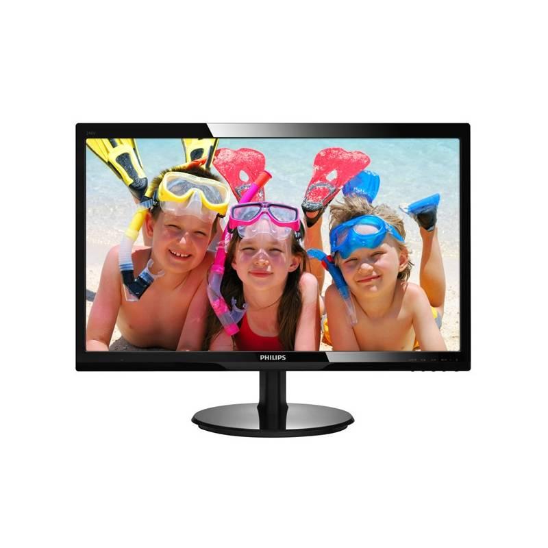 Monitor Philips 246V5LHAB (246V5LHAB/00) čierny
