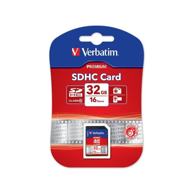 Pamäťová karta Verbatim SDHC 32GB Class 10 (43963) čierna