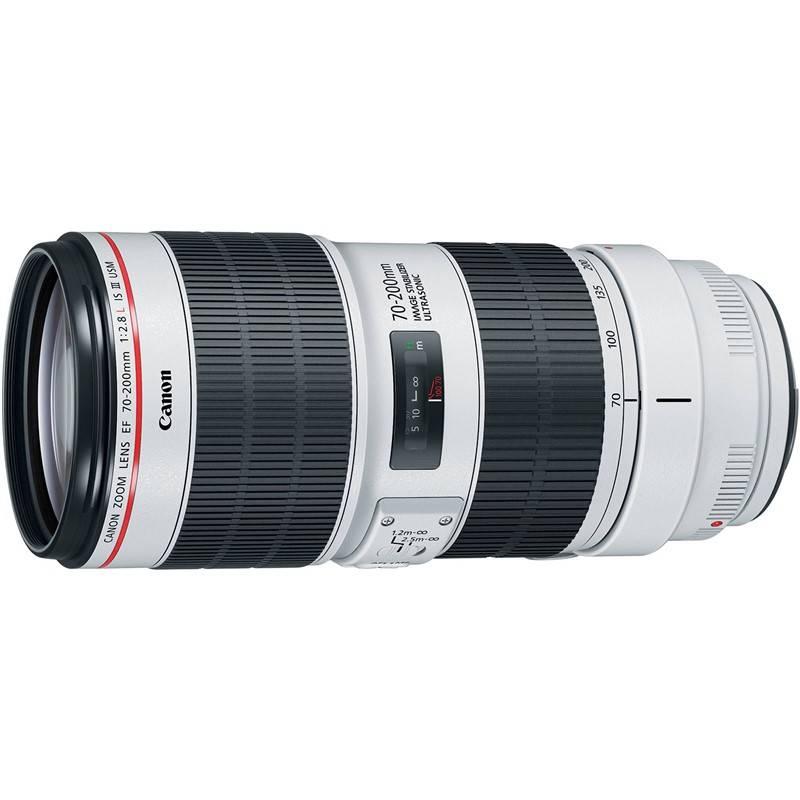 Objektív Canon EF 70-200 mm f/2.8 L IS III USM čierny + Doprava zadarmo