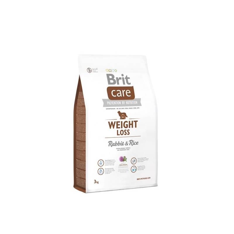 Granuly Brit Care Weight Loss Rabbit & Rice 3 kg