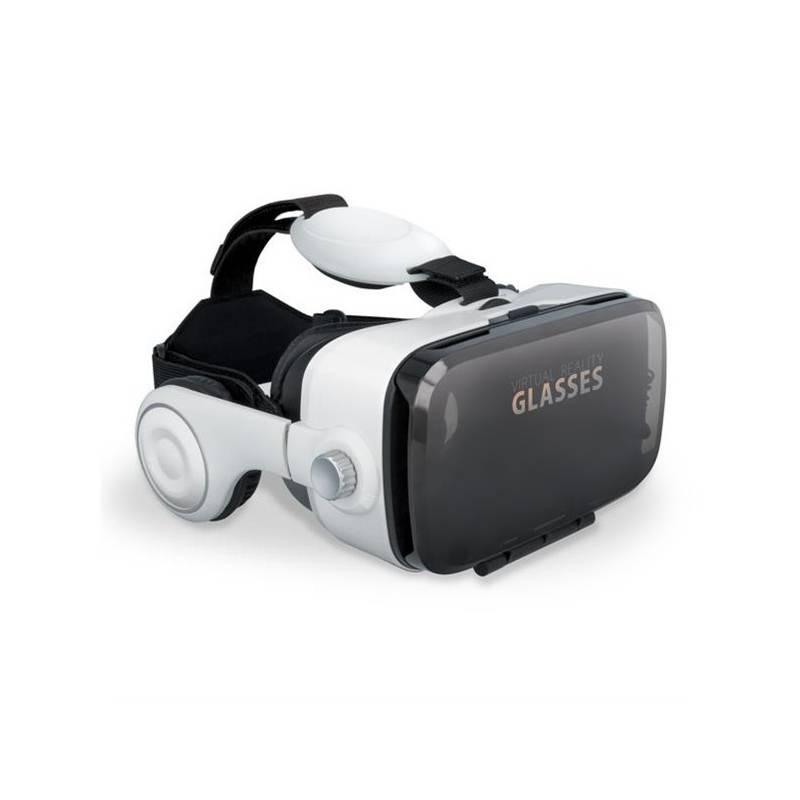 Okuliare pre virtuálnu realitu Forever VRB-200 s mikrofonem (VRB-200) biela