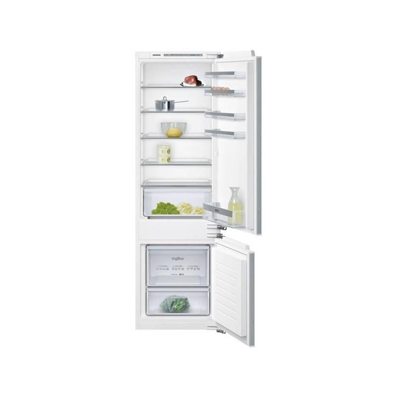 Kombinácia chladničky s mrazničkou Siemens KI87VVF30 biele + Doprava zadarmo