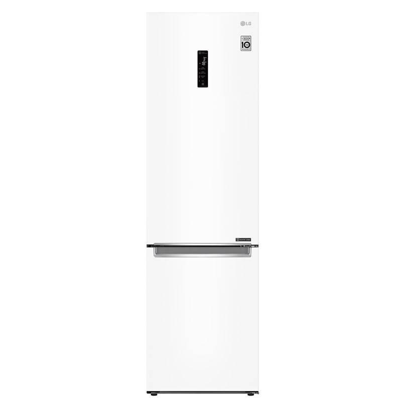 Chladnička s mrazničkou LG GBB72SWDFN bílá + LG 10 let záruka na Lineární kompresor