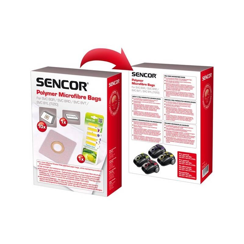 Sáčky do vysavače Sencor SVC 8 + LEMON