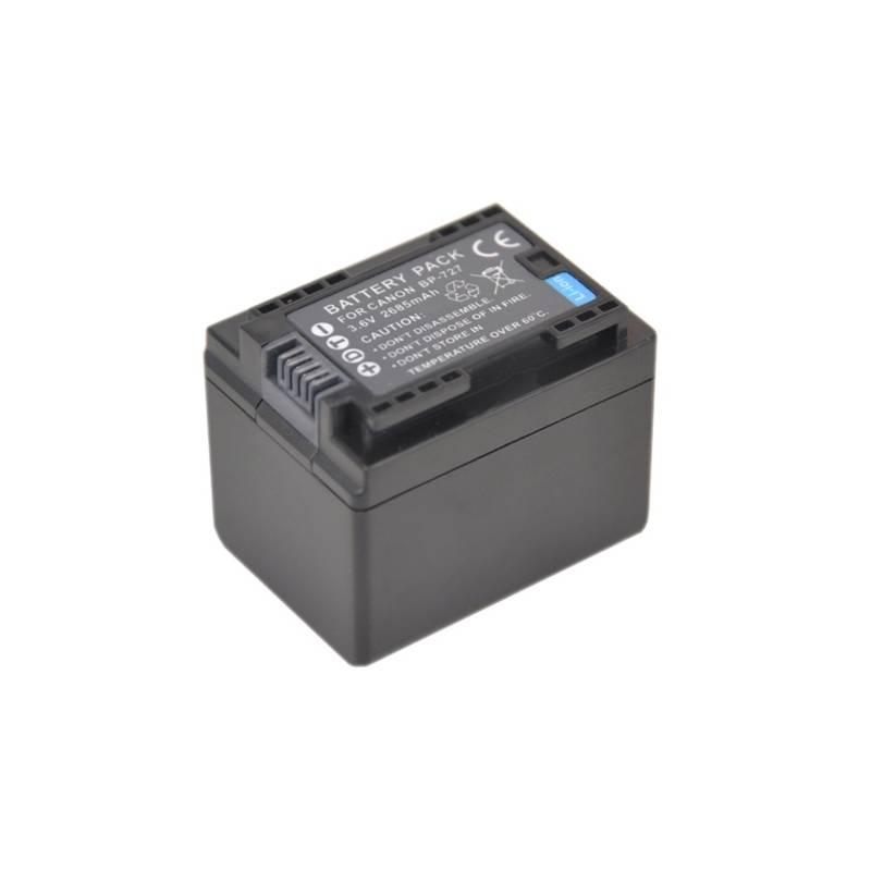 Akumulátor Avacom BP727, pro Canon, Li-Ion 3.6V 2400mAh 8.6Wh