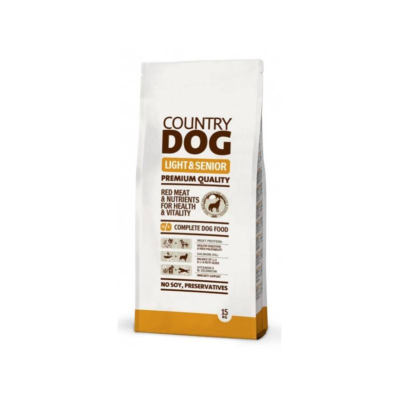 Granule Country Dog Light & Senior 15kg