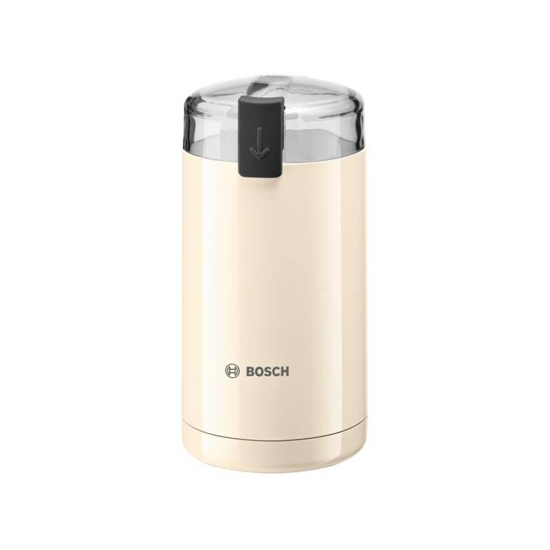 Mlynček na kávu Bosch TSM6A017C krémový