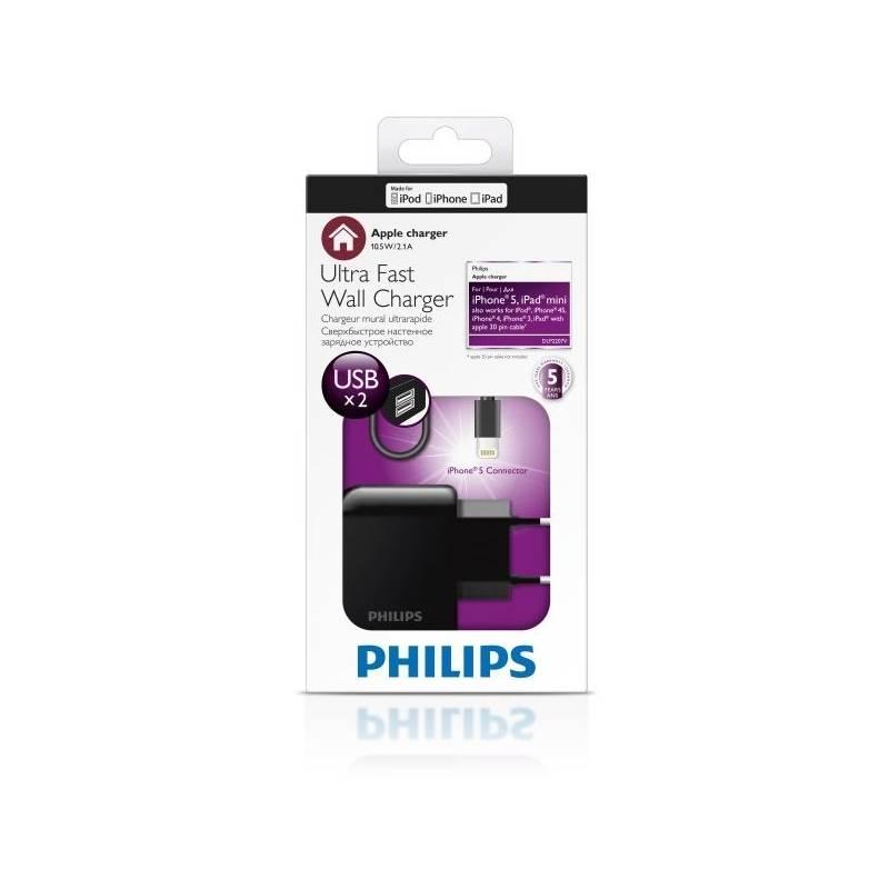 Nabíjačka do siete Philips DLP2207V čierna