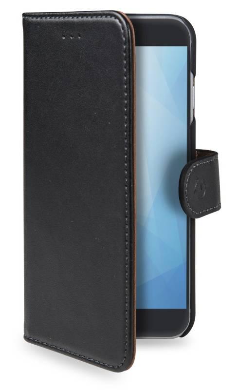 Pouzdro na mobil flipové Celly Wally pro Xiaomi Mi A1 (WALLY715) černé