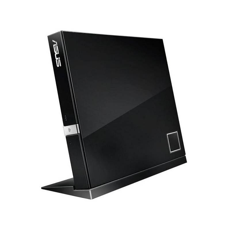 Externá Blu-ray napaľovačka Asus SBW-06D2X-U (90-DT20305-UA199KZ) čierna